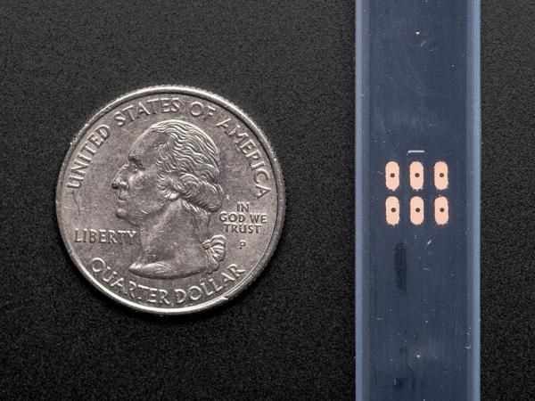 Adafruit NeoPixel Dijital RGB LED Şerit - Siyah 30 LED 1m - Thumbnail
