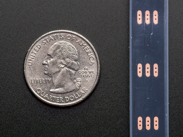 Adafruit NeoPixel Dijital RGB LED Şerit - Siyah 60 LED 1m - Thumbnail