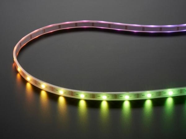 Adafruit - Adafruit NeoPixel Dijital RGBW LED Şerit - Beyaz PCB 30 LEDm 1m