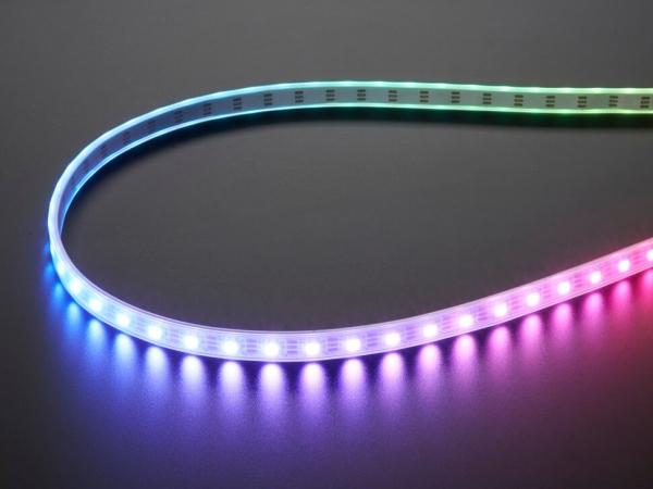 Adafruit - Adafruit NeoPixel Dijital RGBW LED Şerit - Beyaz PCB 60 LEDm 1m