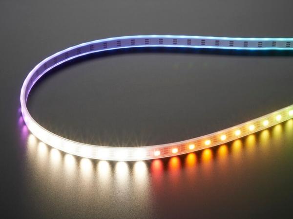 Adafruit NeoPixel Dijital RGBW LED Şerit - Beyaz PCB 60 LEDm 1m - Thumbnail