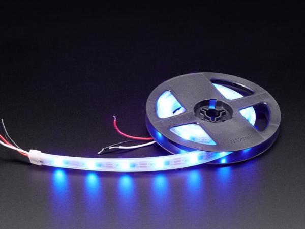 Adafruit - Adafruit NeoPixel UV LED Şerit 32 LED / Beyaz PCB - 1M