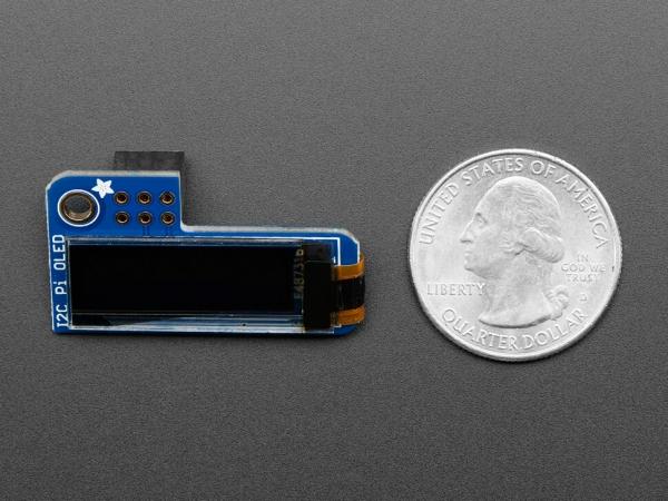 Adafruit Pi OLED - Raspberry Pi için 128x32 Monochrome OLED Eklentisi - Thumbnail