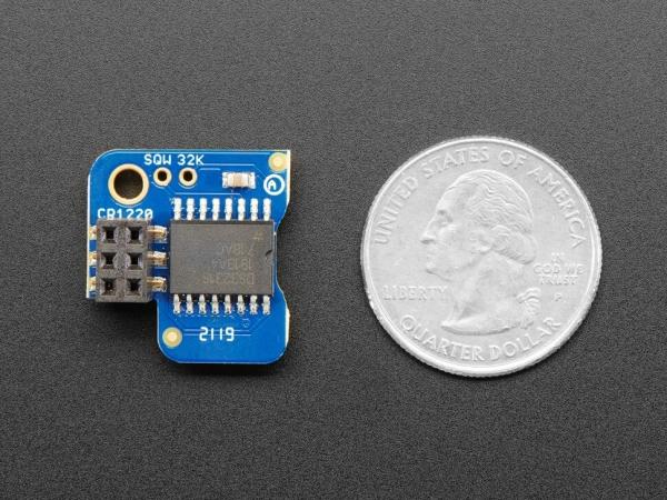 Adafruit Pi RTC - Raspberry Pi için Hassas DS3231 Gerçek Zamanlı Saat - Thumbnail
