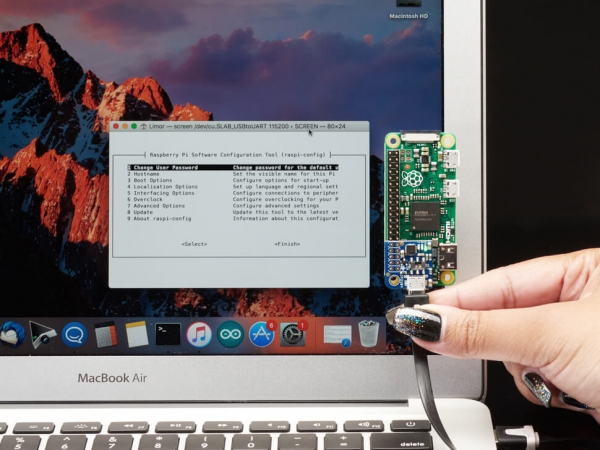 Adafruit Pi UART - Raspberry Pi için USB Konsol ve Güç Eklentisi - Thumbnail