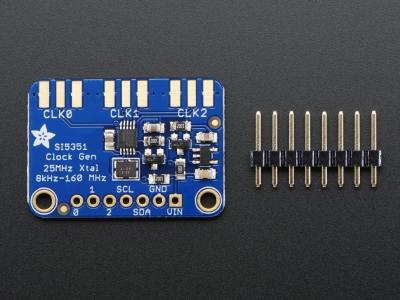 Adafruit Si5351A Saat Jeneratörü Breakout Kartı - 8KHz - 160MHz