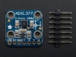 Adafruit - ADXL377 3 Eksenli Yüksek G İvmeölçer (± 200g)