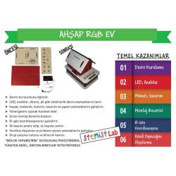 Ahşap RGB Ev - Thumbnail
