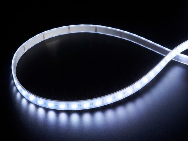 Adafruit - Analog RGBW LED Şerit - RGB Artı Soğuk Beyaz - 60 LED/m 1m