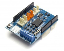 Arduino Motor Shield Rev3 (Orijinal) - Thumbnail