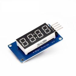Arduino TM1637 4'lü Display Modül - Thumbnail