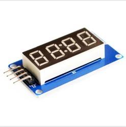 Çin - Arduino TM1637 4'lü Display Modül