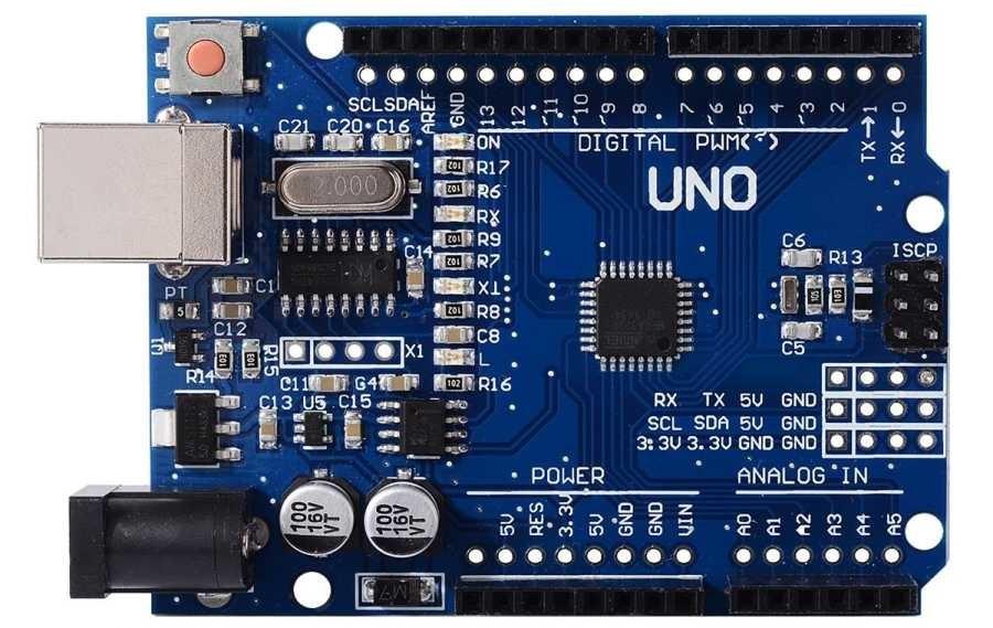 Arduino Uno R3 Smd Ch340 Chipset Klon Usb Kablo Dahil Samm Market
