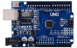 Çin - Arduino Uno R3 SMD CH340 Chipset Klon (Usb Kablo Dahil)