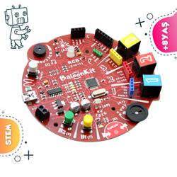 MekatronikLab - BaloonKit - Robotik Kodlama Seti ( Kırmızı )