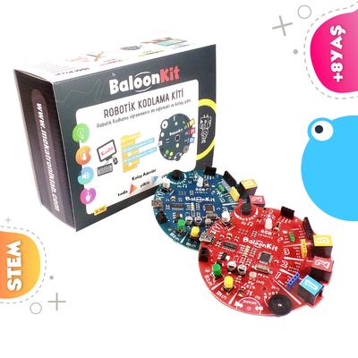BaloonKit - Robotik Kodlama Seti ( Kırmızı )