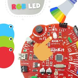 BaloonKit - Robotik Kodlama Seti ( Kırmızı ) - Thumbnail