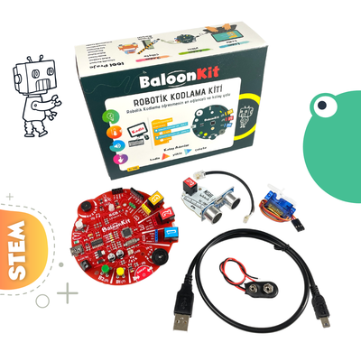 BaloonKit - Robotik Kodlama Seti ( Mavi )