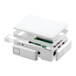 ModMyPi - Beyaz HDMI ve USB Koruma Kapağı