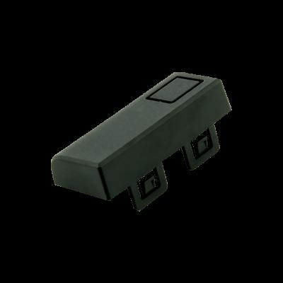 غطاء أسود لمدخل USB و HDMI لعلبة حماية راسبيري باي