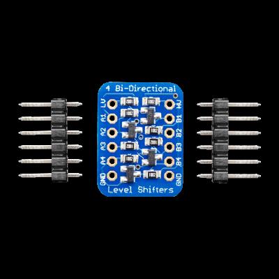 BSS138 4 Kanallı I2C Logic Seviye Dönüştürücü