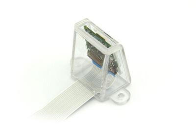 علبة -كفر- حماية كاميرا راسبيري باي الأساسية - لون أبيض