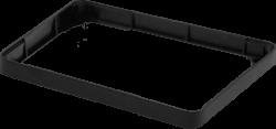 ModMyPi - إطار توسيع لون أسود - لعلبة حماية راسبيري باي 3 و 2 القابلة للتعديل