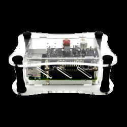 Allo - Clear Acrylic Case - Raspberry Pi + BOSS DAC