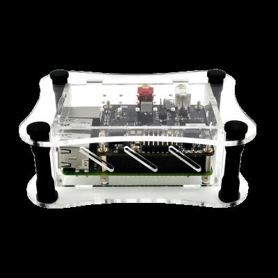 Clear Acrylic Case - Raspberry Pi + BOSS DAC