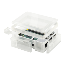 Raspberry Pi 2/3 Modular Clear White Spacer - Thumbnail