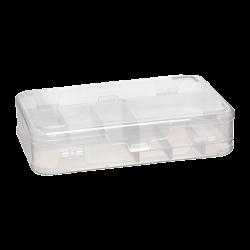 SAMM - Clear Organizer Box 8 inch