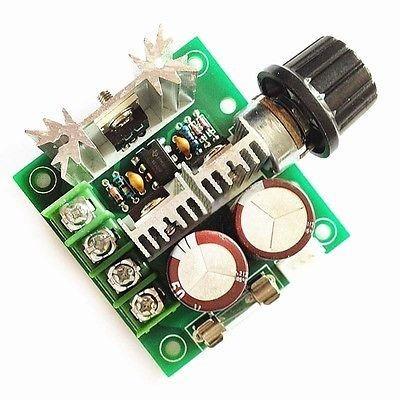 DC Motor Hız Kontrol Devresi (8A)