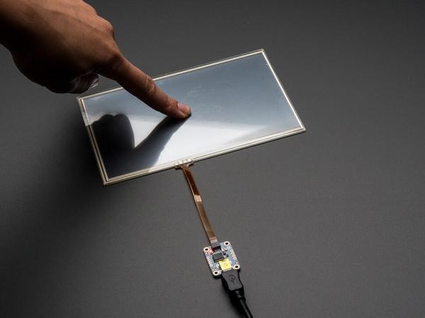 Dirençli Dokunmatik Ekran - USB Fare Denetleyicisi - AR1100 - Thumbnail