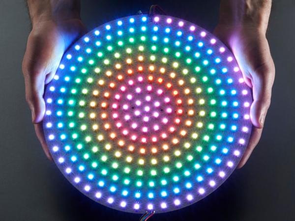 DotStar RGB LED Disk - 240mm çap - Thumbnail