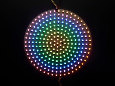 DotStar RGB LED Disk - 240mm çap