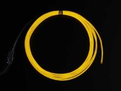 El Wire Şerit Led Sarı 2,5 m - Thumbnail