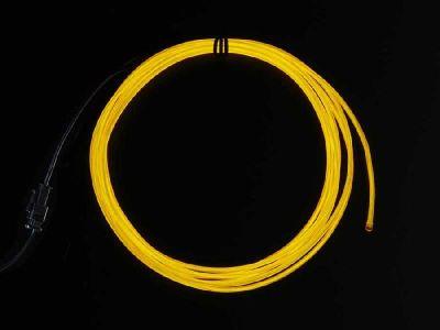 El Wire Şerit Led Sarı 2,5 m