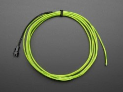 El Wire Şerit Led Yeşil 2,5 m - Thumbnail