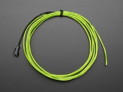 El Wire Şerit Led Yeşil 2,5 m