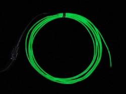 Adafruit - El Wire Şerit Led Yeşil 2,5 m