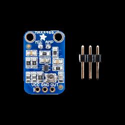 ميكروفون قطبي ذو حساسية عالية لراسبيري باي MAX4466 - Thumbnail