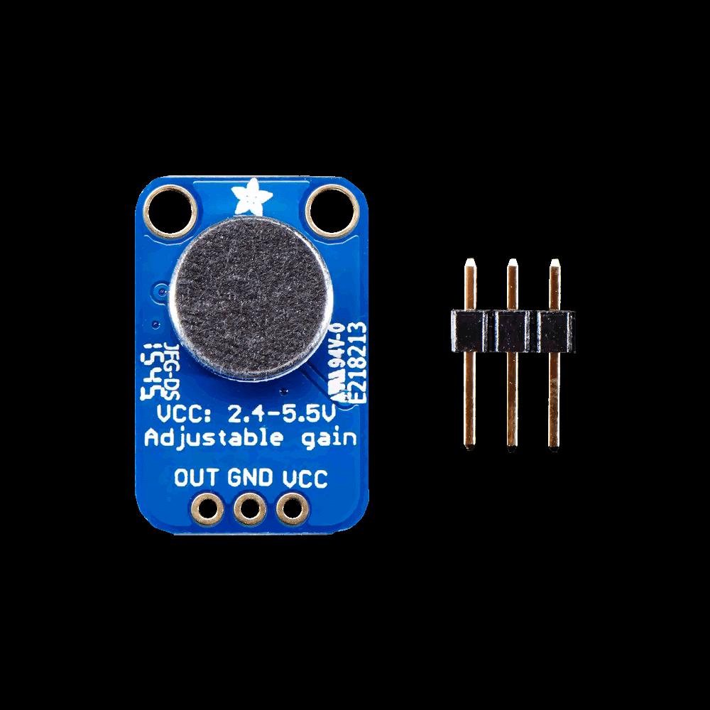 Raspberry PI Electret Microphone Amplifier MAX4466 | Samm Market
