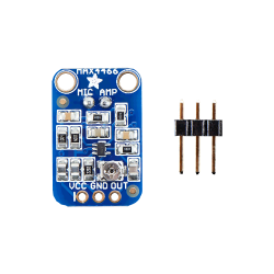 Raspberry PI Electret Mikrofon Amfisi MAX4466 - Thumbnail