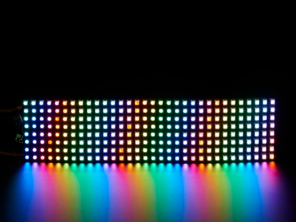 Esnek Adafruit DotStar Matris 8x32 - 256 RGB LED Piksel - Thumbnail