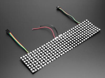 Esnek Adafruit DotStar Matris 8x32 - 256 RGB LED Piksel