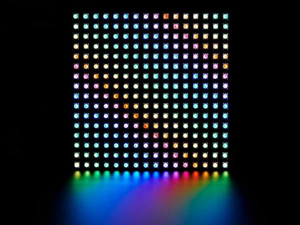 Adafruit - Esnek Adafruit DotStar Matrisi 16x16 - 256 RGB LED Piksel