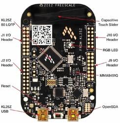 FRDM-KL25Z Geliştirme Kartı - Thumbnail