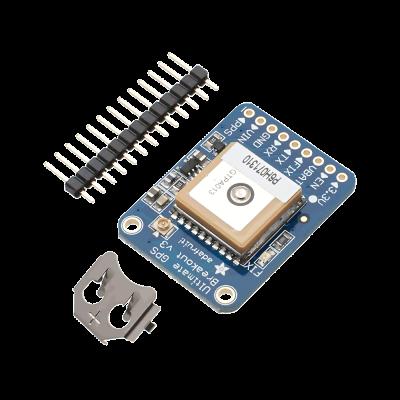 Raspberry Pi GPS Ultimate Breakout Board 66 CHANNEL W/10 HZ Updates