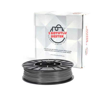 Gümüş PLA Filament 1,75mm - 3 Boyutlu Destek