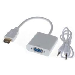 Çin - HDMI - VGA + Ses Dönüştürücü